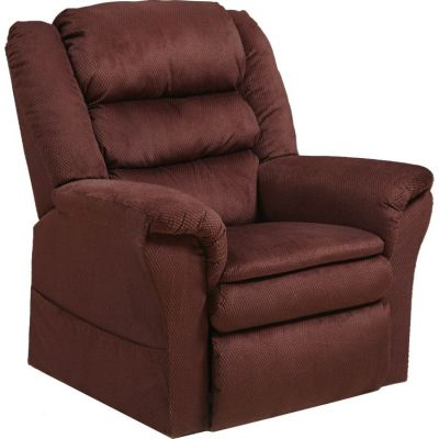 Preston Power Lift Recliner with Pillowtop Seat in Berry - 4850214804