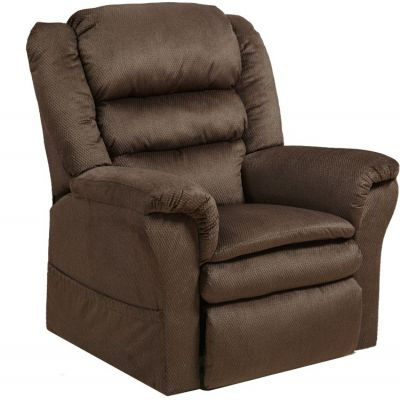 Preston Power Lift Recliner with Pillowtop Seat in Mocha - 4850214829