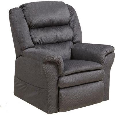 Preston Power Lift Recliner with Pillowtop Seat in Smoke - 4850214828