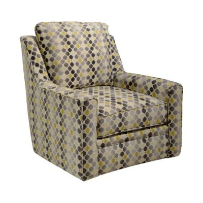 Sutton Swivel Aaron's Chair in Correlate Canary - 72221284528