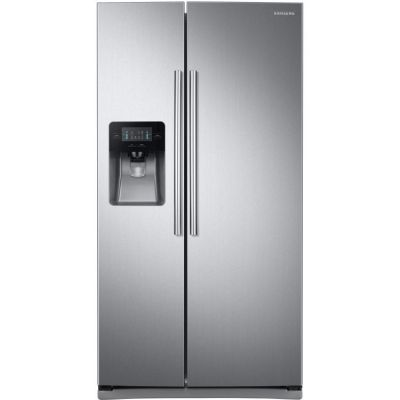 25 Cu.Ft. Side by Side Refrigerator in Stainless Steel - RS25J500DSR