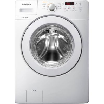 3.6 Cu. Ft. Front Load Washer in White - WF36J4000AW