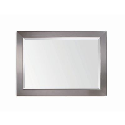 Stainless Wall Mirror  in Brushed Chrome - 63307-1814EC