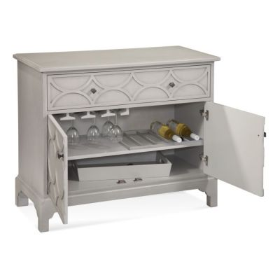 Quinn Hospitality Cabinet in Grey Finish - A2355EC