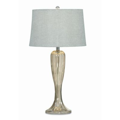 Gable Table Lamp  in Shaped Glass - L2492TEC