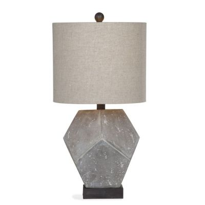 Wallace Table Lamp in Cement Finish - L2977TEC
