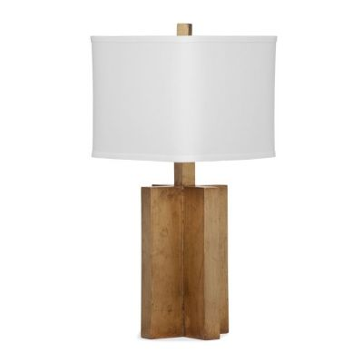 Kasey Table Lamp in Gold Leaf - L2992TEC