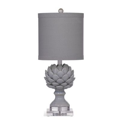 Regan Table Lamp in Grey - L2993TEC