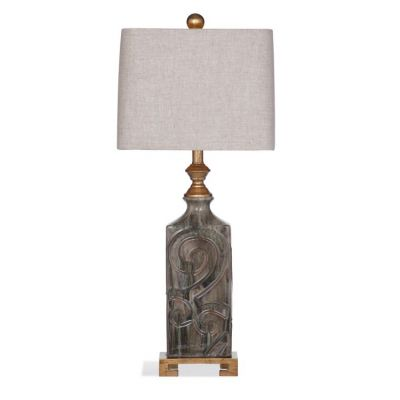 Mason Table Lamp in Aged Bronze - L3006TEC