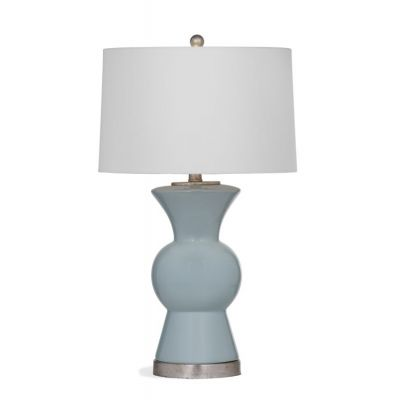 Marion Table Lamp in Light Blue - L3010TEC