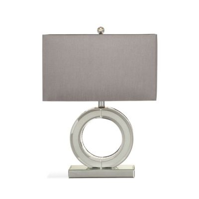Simone Table Lamp in Clear Mirror - L3217TEC