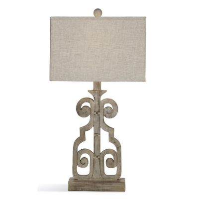 Braylin Table Lamp in Weathered Grey - L3234TEC