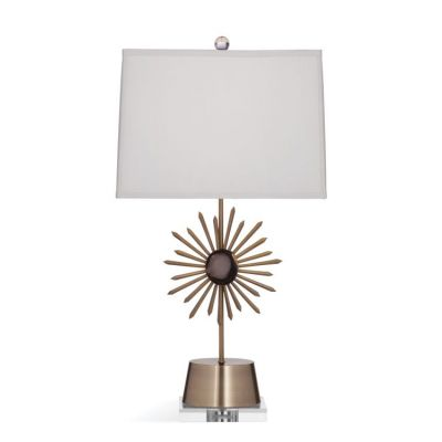 Kiana Table Lamp in Agate & Antique Brass - L3273TEC