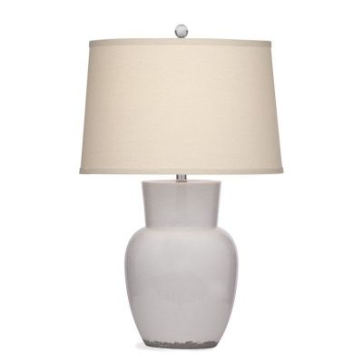Keaton Table Lamp in Eggshell Crackle - L3334TEC