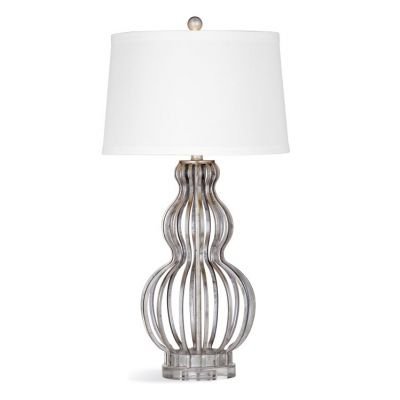 Sophie Table Lamp in Silver Leaf - L3341TEC