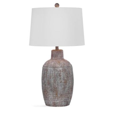 Libby Table Lamp in Cram Antique Wash - L3346TEC