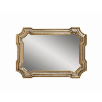 Angelica Wall Mirror  in Silver & Gold - M2804EC
