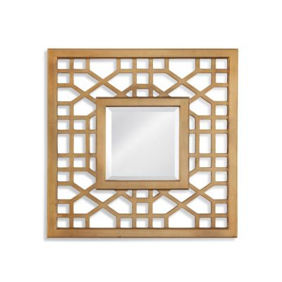 Dandridge Wall Mirror in Antique Gold Leaf - M4013BEC