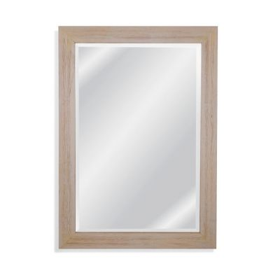 Briggs Wall Mirror in Distressed White - M4027BEC