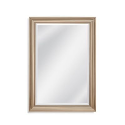 Rachel Wall Mirror in Champagne - M4029BEC