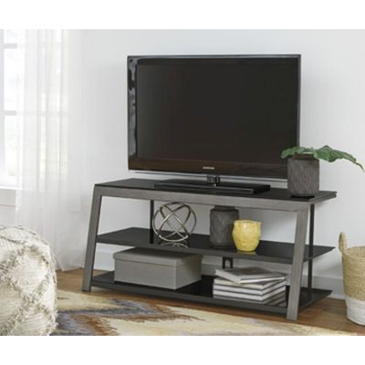 Rollynx TV Stand in Black - W326-10