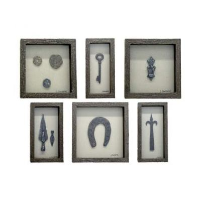 Collection of Curiosities Wall Art - VEN047-W6292