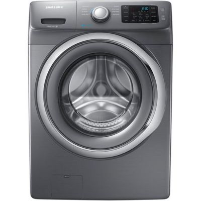 4.2 Cu. Ft. Front Load Washer in Platinum - WF42H5200AP