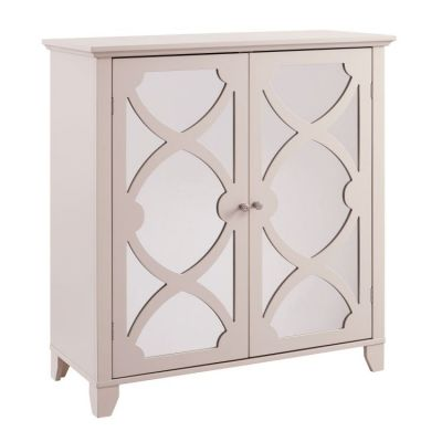 Winter Cream Large Cabinet with Mirror Door - WK119CRM01U