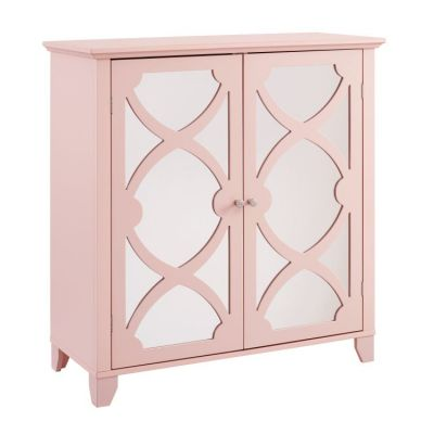 Winter Rose Large Cabinet with Mirror Door - WK120ROSE01U