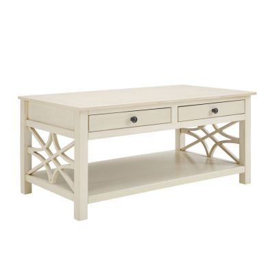 Whitley Antique White Coffee Table - WM126WHT01U