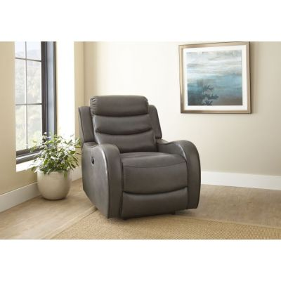 Wyatt Grey Power Recliner - WY850PCG