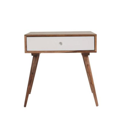 End Table in White - YHD-B119Q-W