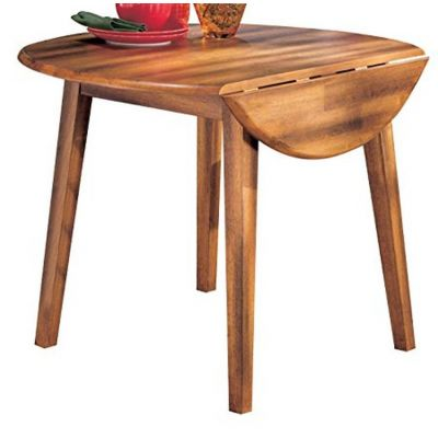Berringer Round Drop Leaf Dinning Table - D199-15