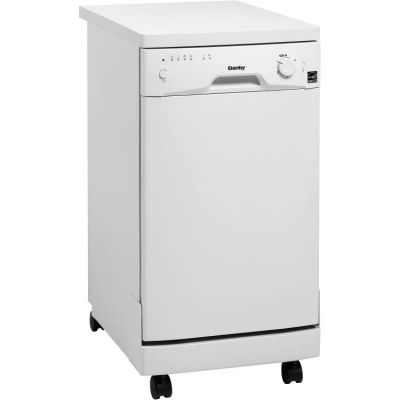 18'' PORTABLE DISHWASHER, SS INTERIOR - WHITE - DDW1801MWP