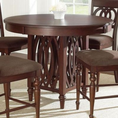 Dolly Counter Table in Brown Cherry Finish (Table Only) - DL550PT