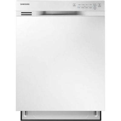 24'' DISHWASHER, ADJUSTABLE RACK - WHITE - DW80J3020UW