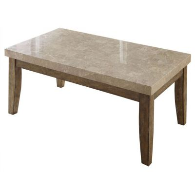 Franco Marble Top Table in Gray - FR500WT