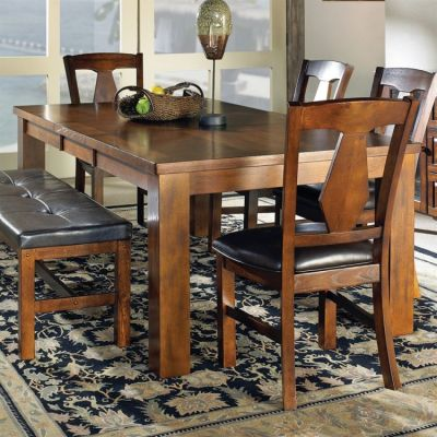 Lakewood Dining Table in Medium Oak Finish (Table Only) - LK400T