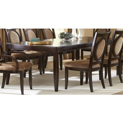 Montblanc Dining Table in Glazed Cherry Finish - MB500T