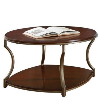 Maryland Round Coffee Table in Medium Cherry Wood - ML200C