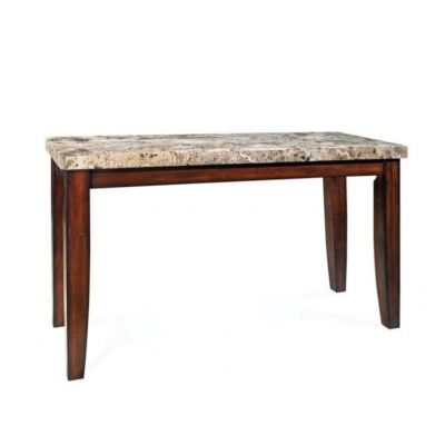 Montibello Marble Top Table in Cherry Finish (Table Only) - MN500T