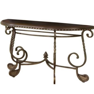 Rosemont Antique Brown Sofa Table - RM200S