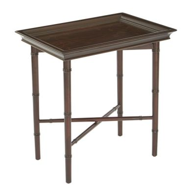 Salem Folding Serving Tray in Brown - SLM37-BR