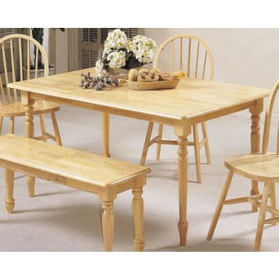 Farmhouse Natural Dining Table (Table Only) - 02247N
