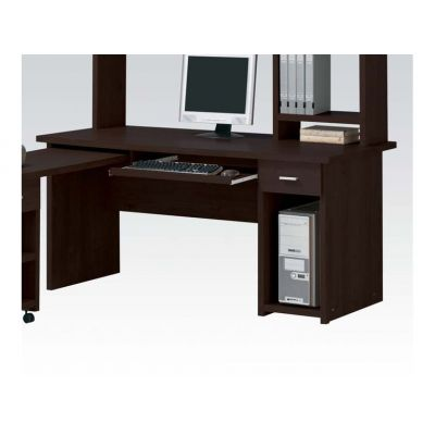 Linda Office Computer Desk in Espresso - 04692