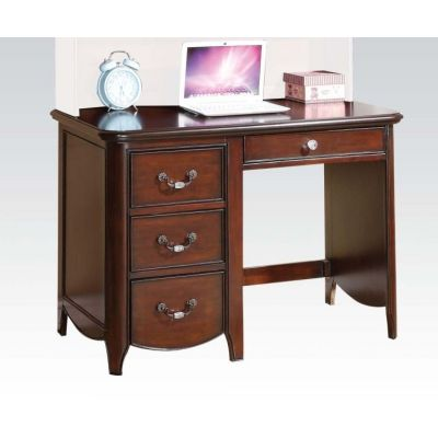 Cecilie Computer Desk in Cherry