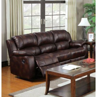 Zanthe Aaron's Sofa (Motion) in Brown P-Mfb - 50510