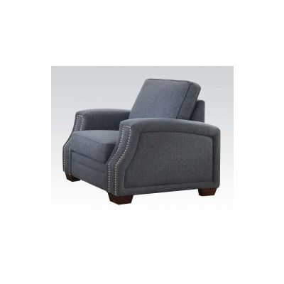 Betisa Ashley Chair with Light Blue Finish - 52587