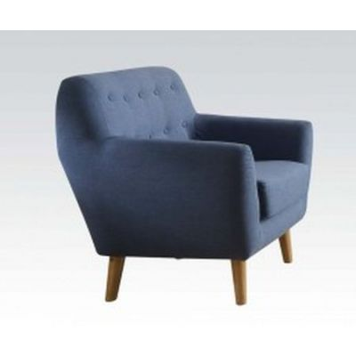 Ngaio Linen Progressive Chair in Blue - 52657