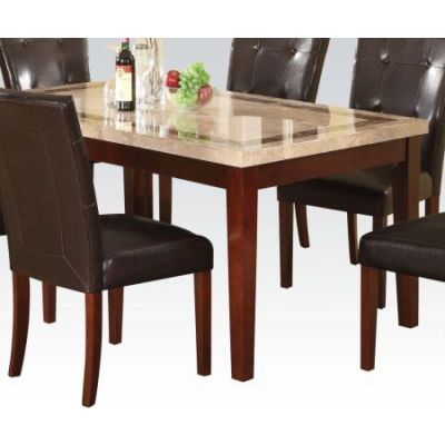 Earline Dining Table with Walnut Finish (Table Only) - 70772